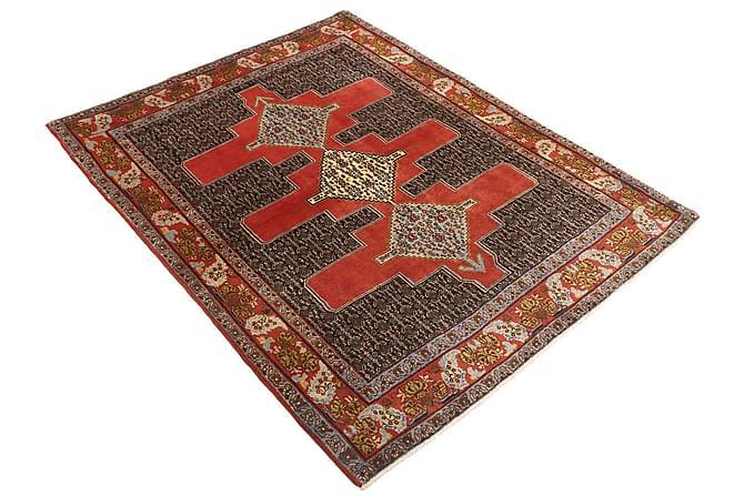 Senneh Orientalisk Matta 123x157 Persisk - Röd - Heminredning - Mattor - Orientaliska mattor