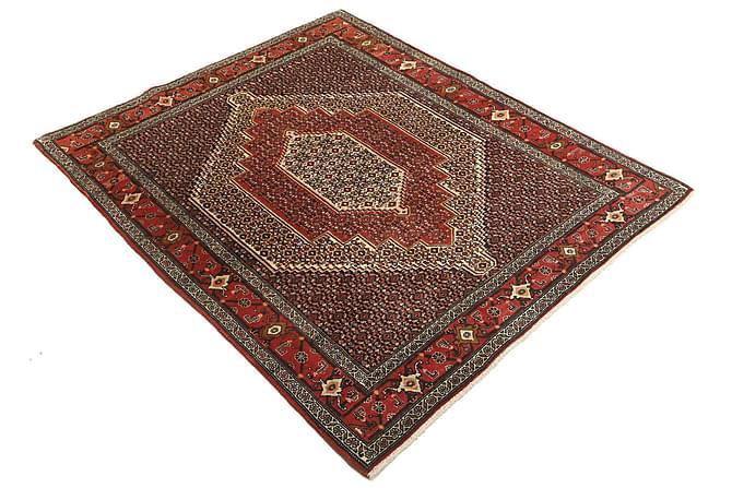 Senneh Orientalisk Matta 124x156 Persisk - Röd - Heminredning - Mattor - Orientaliska mattor