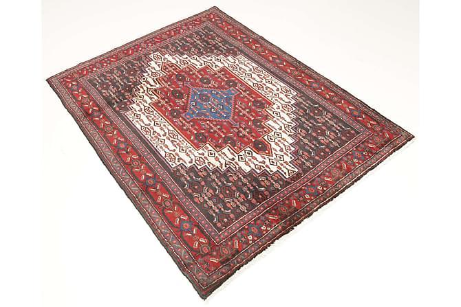 Senneh Orientalisk Matta 125x164 Persisk - Röd - Heminredning - Mattor - Orientaliska mattor