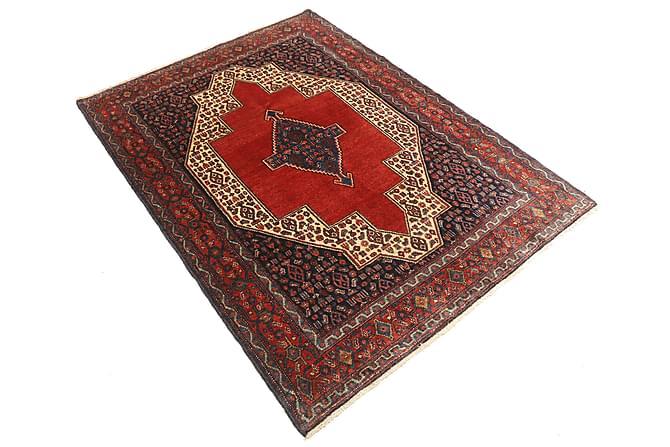 Senneh Orientalisk Matta 127x170 Persisk - Röd - Heminredning - Mattor - Orientaliska mattor
