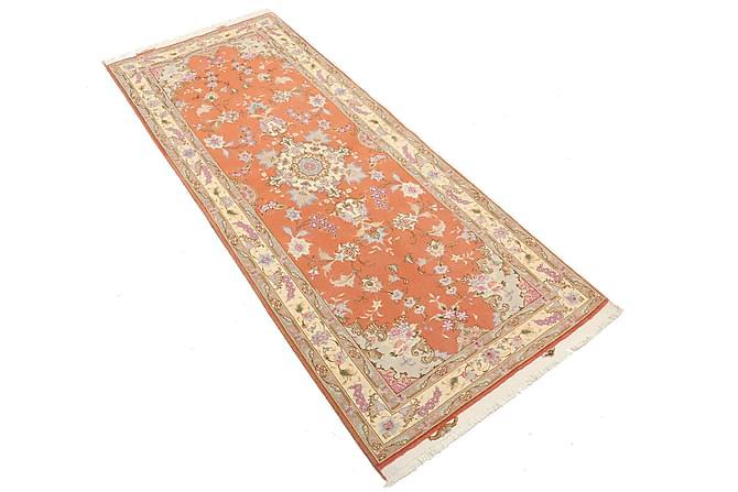 Tabriz Matta 80x201 Stor - Flerfärgad - Heminredning - Mattor - Orientaliska mattor