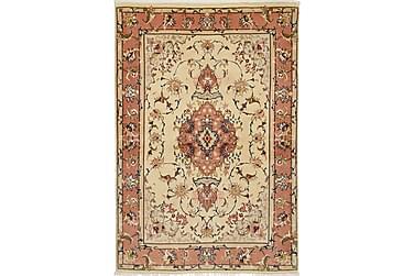 Tabriz Orientalisk Silkesmatta 100x145