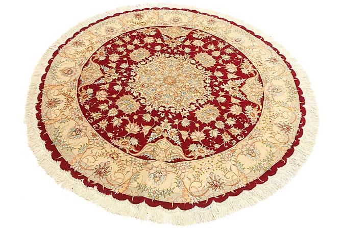 Tabriz Rund Matta 150 - Flerfärgad - Heminredning - Mattor - Orientaliska mattor