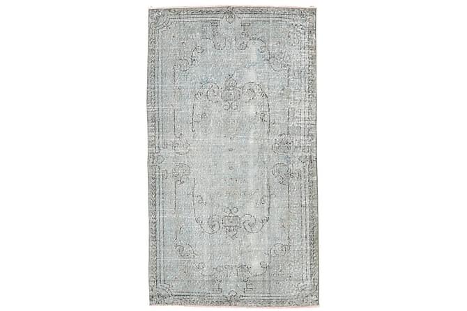 Colored Vintage Patchworkmatta 118x207 - Grå - Heminredning - Mattor - Patchwork-matta