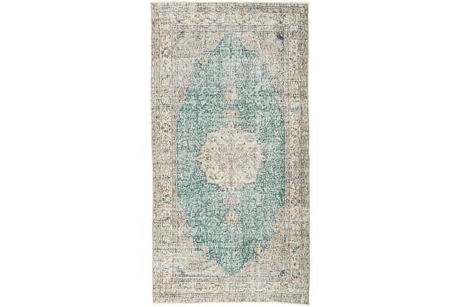 Colored Vintage Patchworkmatta 148x285 - Beige/Grå - Heminredning - Mattor - Patchwork-matta