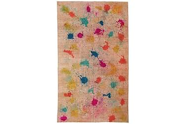 Colored Vintage Patchworkmatta 170x286 Stor