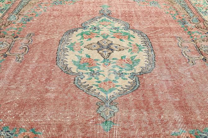 Colored Vintage Patchworkmatta 172x290 Stor - Flerfärgad - Heminredning - Mattor - Patchwork-matta