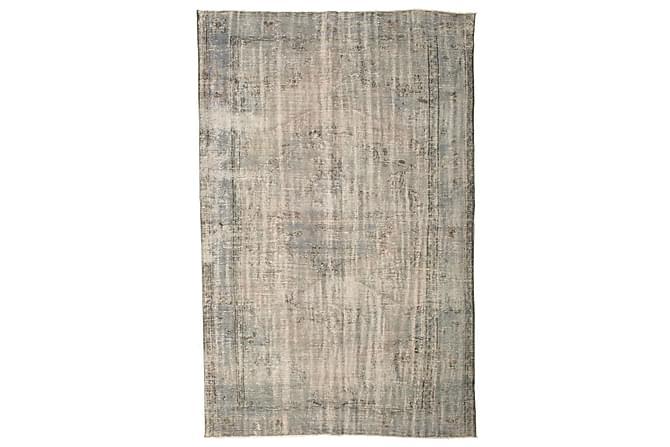 Colored Vintage Patchworkmatta 196x300 Stor - Beige/Grå - Heminredning - Mattor - Patchwork-matta