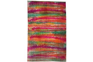 Colored Vintage Patchworkmatta 196x307 Stor