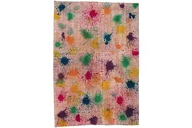 Colored Vintage Patchworkmatta 198x286 Stor