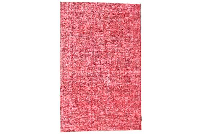 Colored Vintage Patchworkmatta 200x314 Stor - Röd - Heminredning - Mattor - Patchwork-matta