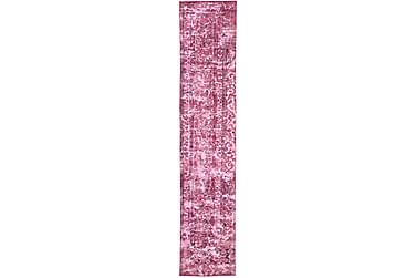 Colored Vintage Patchworkmatta 67x370 Stor
