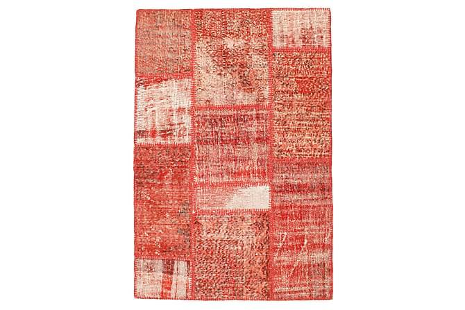 Kathy Patchworkmatta 102x152 Modern - Röd - Heminredning - Mattor - Patchwork-matta