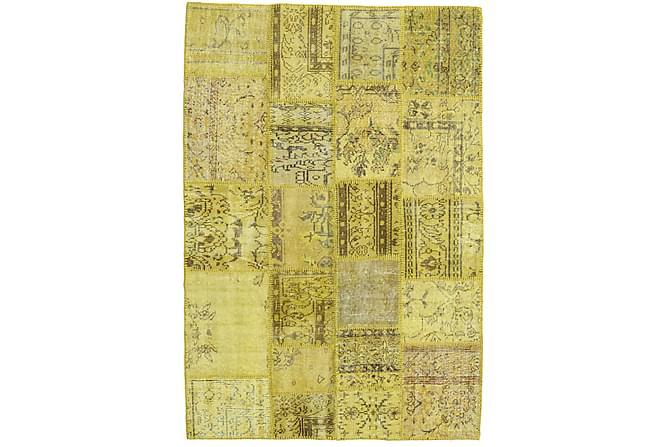 Kathy Patchworkmatta 137x201 Modern - Gul - Heminredning - Mattor - Patchwork-matta