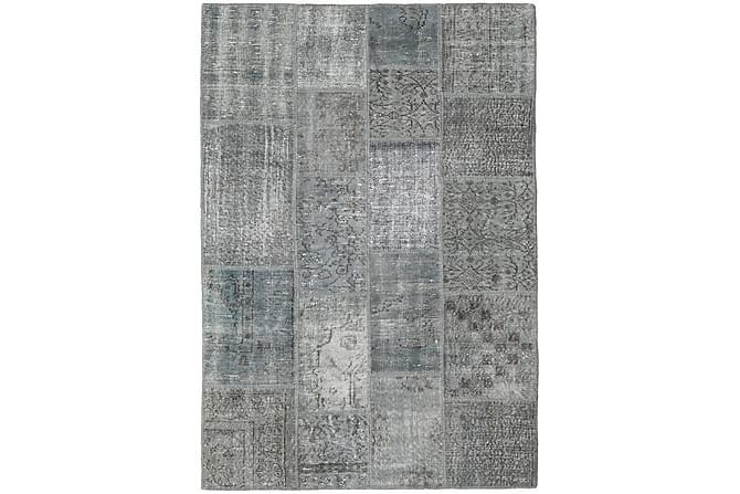 Kathy Patchworkmatta 138x200 Modern - Grå - Heminredning - Mattor - Patchwork-matta