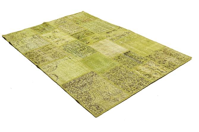 Kathy Patchworkmatta 138x202 Modern - Grön - Heminredning - Mattor - Patchwork-matta