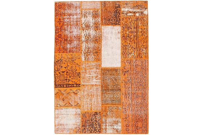 Kathy Patchworkmatta 141x200 Modern - Orange - Heminredning - Mattor - Patchwork-matta
