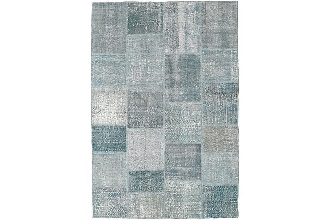 Kathy Patchworkmatta 157x232 Modern - Blå/Grå - Heminredning - Mattor - Patchwork-matta