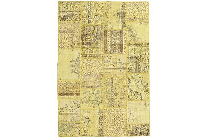 Kathy Patchworkmatta 158x234 Modern - Gul - Heminredning - Mattor - Patchwork-matta