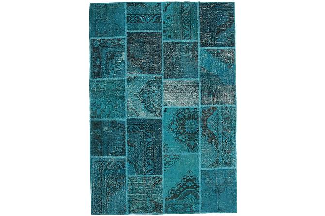 Kathy Patchworkmatta 159x231 Modern - Blå - Heminredning - Mattor - Patchwork-matta