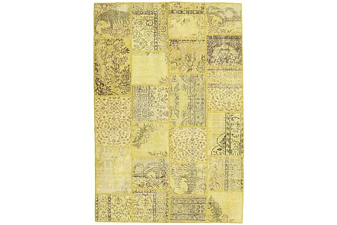 Kathy Patchworkmatta 159x236 Modern - Gul - Heminredning - Mattor - Patchwork-matta