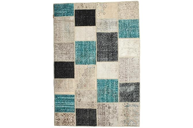 Kathy Patchworkmatta 160x230 Stor Modern - Flerfärgad - Heminredning - Mattor - Patchwork-matta