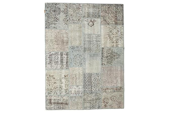 Kathy Patchworkmatta 171x229 Stor Modern - Beige/Grå - Heminredning - Mattor - Patchwork-matta