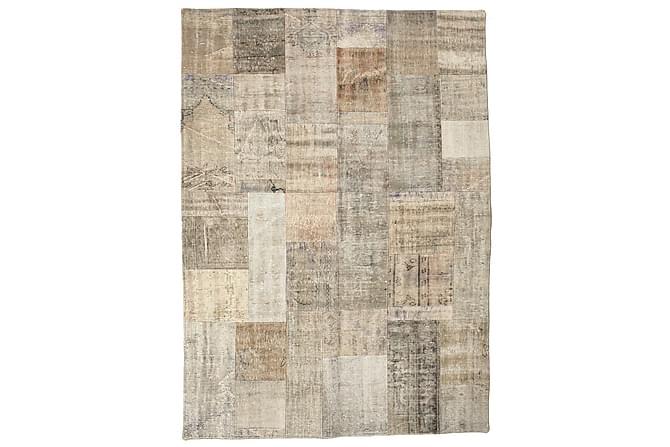 Kathy Patchworkmatta 174x241 Stor Modern - Beige/Grå - Heminredning - Mattor - Patchwork-matta