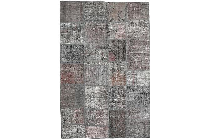Kathy Patchworkmatta 196x302 Stor Modern - Grå - Heminredning - Mattor - Patchwork-matta