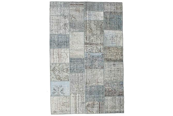Kathy Patchworkmatta 198x301 Stor Modern - Grå - Heminredning - Mattor - Patchwork-matta