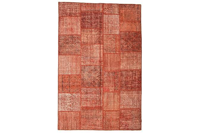 Kathy Patchworkmatta 200x302 Stor Modern - Röd - Heminredning - Mattor - Patchwork-matta