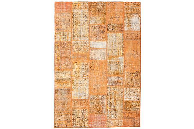 Kathy Patchworkmatta 202x297 Stor Modern - Orange - Heminredning - Mattor - Patchwork-matta