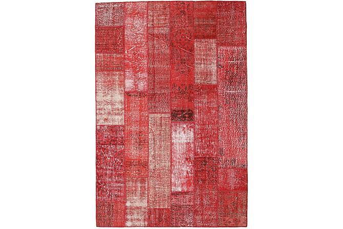 Kathy Patchworkmatta 202x302 Stor Modern - Röd - Heminredning - Mattor - Patchwork-matta