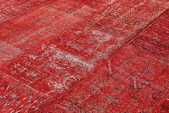 Kathy Patchworkmatta 203x304 Stor Modern - Röd - Heminredning - Mattor - Patchwork-matta