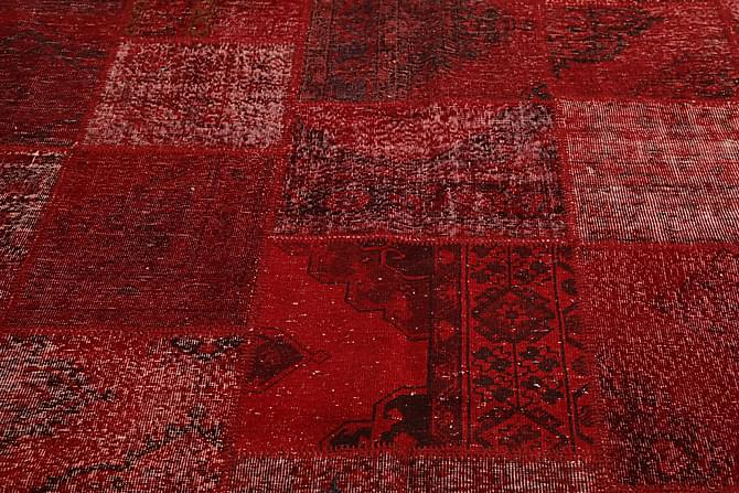Kathy Patchworkmatta 250x296 Stor Modern - Röd - Heminredning - Mattor - Patchwork-matta