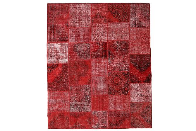 Kathy Patchworkmatta 251x305 Stor Modern - Röd - Heminredning - Mattor - Patchwork-matta