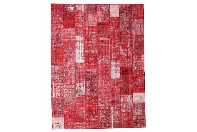 Kathy Patchworkmatta 301x400 Stor Modern - Röd - Heminredning - Mattor - Patchwork-matta