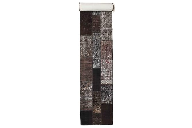 Kathy Patchworkmatta 79x602 Stor Modern - Brun/Grå - Heminredning - Mattor - Patchwork-matta