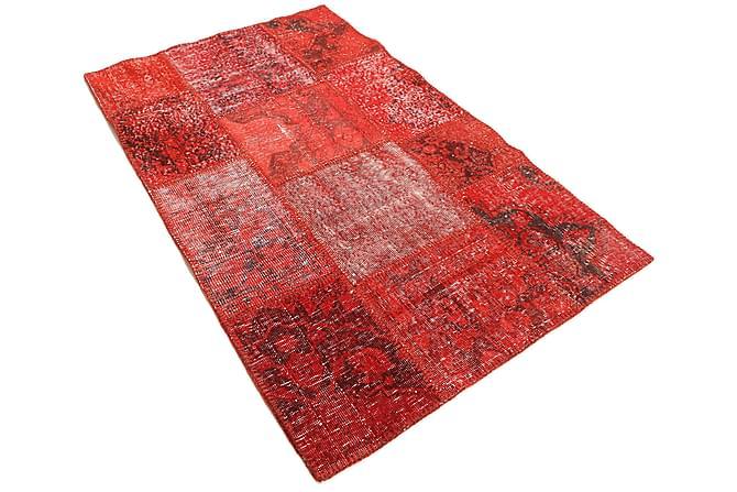 Kathy Patchworkmatta 98x156 Modern - Röd - Heminredning - Mattor - Patchwork-matta