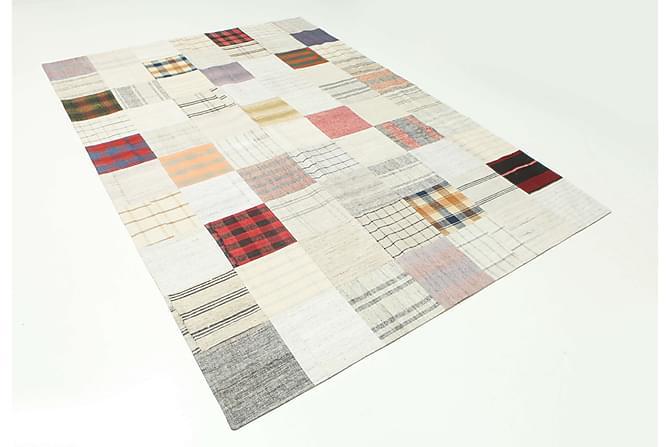 Kelim Patchworkmatta 199x296 Stor - Flerfärgad - Heminredning - Mattor - Patchwork-matta