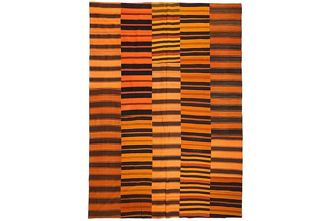 Kelim Patchworkmatta 250x355 Stor - Orange - Heminredning - Mattor - Patchwork-matta