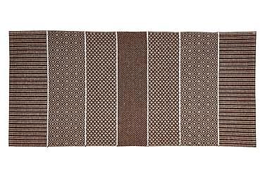 Alfie Plastmatta 70x150 Vändbar PVC Brun