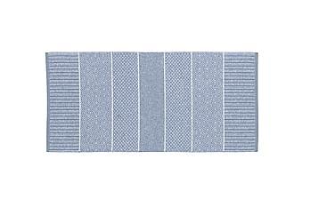 Alice Matta Mix 70x100 PVC/Bomull/Polyester Ljusblå
