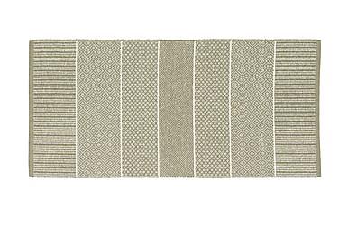 Alice Matta Mix 70x200 PVC/Bomull/Polyester Ljusgrön