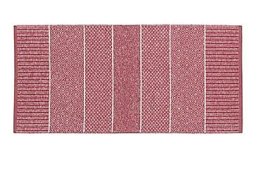 Alice Matta Mix 70x200 PVC/Bomull/Polyester Röd