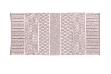 Alice Matta Mix 70x200 PVC/Bomull/Polyester Rosa