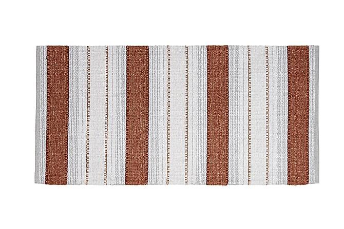Anna Matta Mix 170x220 PVC/Bomull/Polyester Rost - Horredsmattan - Heminredning - Mattor - Plastmattor