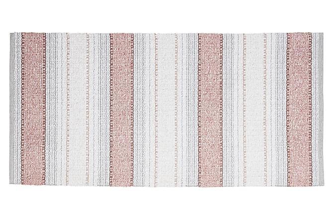 Anna Matta Mix 70x140 PVC/Bomull/Polyester Rosa - Horredsmattan - Heminredning - Mattor - Plastmattor