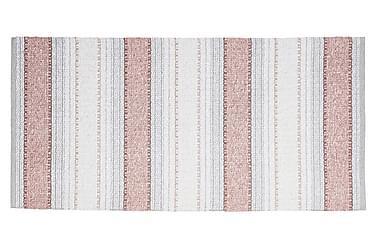 Anna Matta Mix 70x180 PVC/Bomull/Polyester Rosa