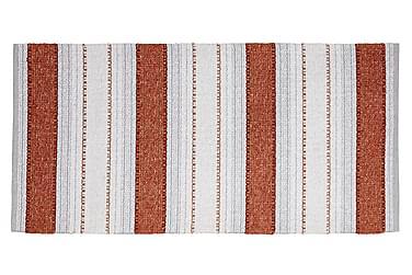 Anna Matta Mix 70x220 PVC/Bomull/Polyester Rost